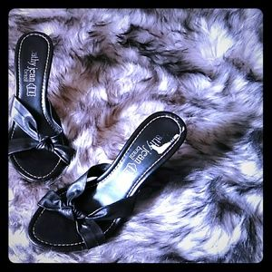 Cathy Jean Slip on High Heels 8/9
